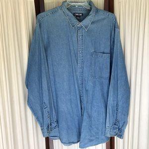 Cherokee jean shirt Sz XXL